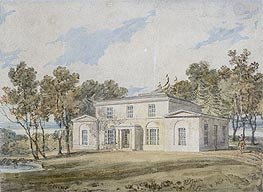Mansion with Wooded Grounds | J. M. W. Turner | veraltet