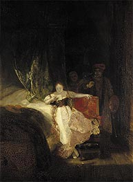 Rembrandt's Daughter Reading a Letter, 1827 by J. M. W. Turner   Painting Reproduction