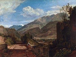 Chateau de St. Michael, Bonneville, Savoy, undated by J. M. W. Turner | Painting Reproduction