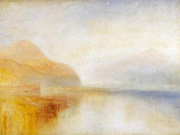 Inverary Pier, Loch Fyne: Morning, undated by J. M. W. Turner | Painting Reproduction