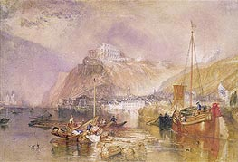 Ehrenbreitstein, undated by J. M. W. Turner | Painting Reproduction
