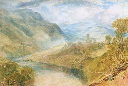 Merwick Abbey, undated by J. M. W. Turner | Painting Reproduction