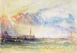 Storm at Sunset, Venice, c.1840 by J. M. W. Turner | Painting Reproduction