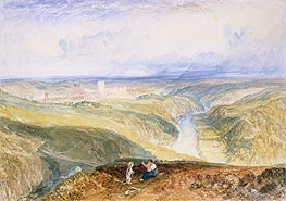 Richmond, Yorkshire, c.1825/28 by J. M. W. Turner | Painting Reproduction