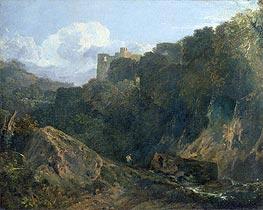 Cillgerren Castle, c.1798/99 by J. M. W. Turner | Painting Reproduction
