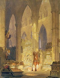 Caen Cathedral, undated by J. M. W. Turner | Painting Reproduction