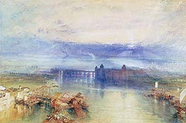Lake Constance, undated by J. M. W. Turner | Painting Reproduction