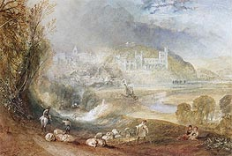 Arundel Castle and Town, c.1824 by J. M. W. Turner | Painting Reproduction