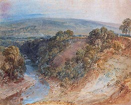 Valley of the Washburn, 1818 by J. M. W. Turner | Painting Reproduction