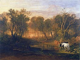 The Forest of Bere, c.1808 by J. M. W. Turner | Painting Reproduction