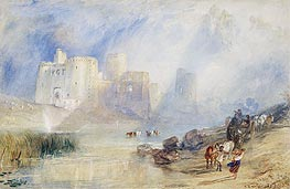 Kidwelly Castle, Carmarthenshire, undated by J. M. W. Turner | Painting Reproduction