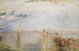 Returning from the Ball (St Martha), c.1846 by J. M. W. Turner | Painting Reproduction