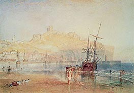 Scarborough, 1825 by J. M. W. Turner | Painting Reproduction