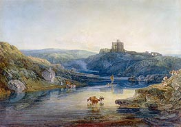 Norham Castle, Summer's Morning, 1798 by J. M. W. Turner | Painting Reproduction