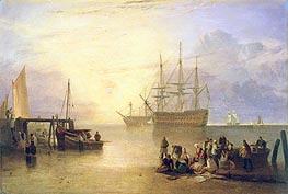 The Sun Rising through Vapour | J. M. W. Turner | Painting Reproduction