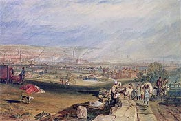 Leeds   J. M. W. Turner   Painting Reproduction
