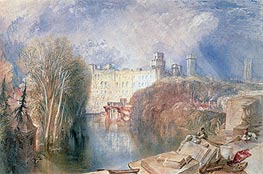 Warwick Castle   J. M. W. Turner   Painting Reproduction