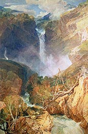 The Great Falls of the Reichenbach | J. M. W. Turner | Gemälde Reproduktion