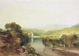 Addingham Mill on the Wharfe, West Yorkshire | J. M. W. Turner | Gemälde Reproduktion