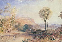Powis Castle, Montgomeryshire | J. M. W. Turner | Painting Reproduction