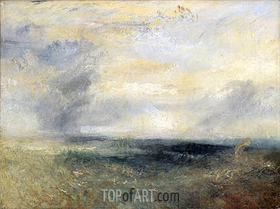 J. M. W. Turner | Margate from the Sea, c.1835/40