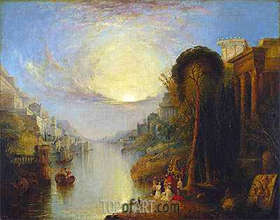 Carthage, undated | J. M. W. Turner| Gemälde Reproduktion