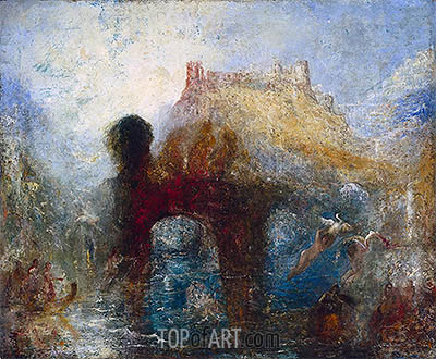 Queen Mab's Cave, a.1846 | J. M. W. Turner | Painting Reproduction