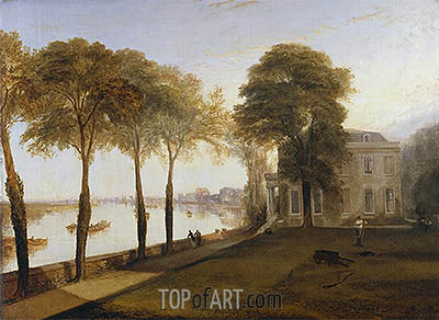 Mortlake Terrace: Early Summer Morning, 1826 | J. M. W. Turner | Painting Reproduction