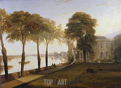 J. M. W. Turner | Mortlake Terrace: Early Summer Morning, 1826