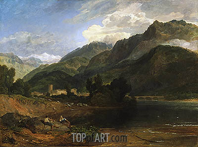 Bonneville, Savoy, c.1812 | J. M. W. Turner | Painting Reproduction