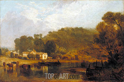 Cliveden on Thames, 1807 | J. M. W. Turner| Painting Reproduction