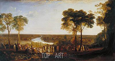 J. M. W. Turner | England: Richmond Hill on the Prince Regent's Birthday, 1819