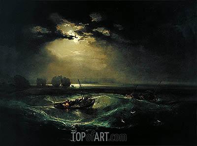 J. M. W. Turner | Fishermen at Sea, 1796