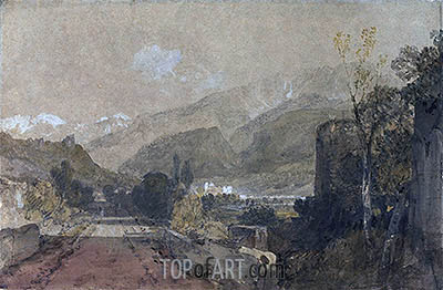 Bonneville, 1802 | J. M. W. Turner | Painting Reproduction