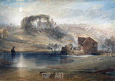 Colchester, c.1826 | J. M. W. Turner | Painting Reproduction