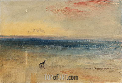 Dawn after the Wreck, c.1841 | J. M. W. Turner| Painting Reproduction