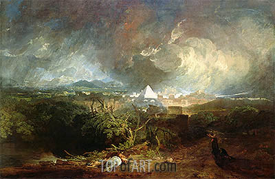 The Fifth Plague of Egypt, 1800 | J. M. W. Turner | Painting Reproduction