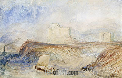 Dunstaffnage, c.1832/35 | J. M. W. Turner | Painting Reproduction