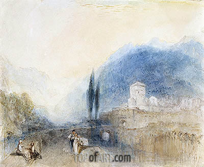 Bellinzona, 1842 | J. M. W. Turner | Painting Reproduction