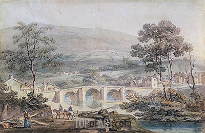 Matlock, 1794 | J. M. W. Turner | Painting Reproduction