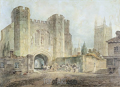 J. M. W. Turner | King Edgar's Gate, Worcester, c.1794