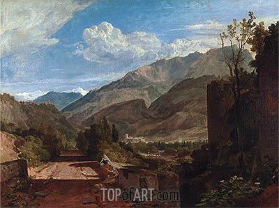 J. M. W. Turner | Chateau de St. Michael, Bonneville, Savoy, undated