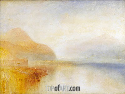 Inverary Pier, Loch Fyne: Morning, undated | J. M. W. Turner | Gemälde Reproduktion