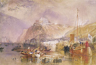 Ehrenbreitstein, undated | J. M. W. Turner | Painting Reproduction