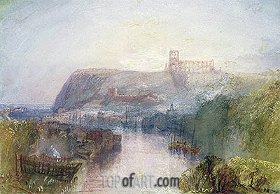 Whitby, undated | J. M. W. Turner| Painting Reproduction