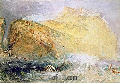 J. M. W. Turner | Tintagel Castle, Cornwall, undated