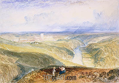 Richmond, Yorkshire, c.1825/28 | J. M. W. Turner | Gemälde Reproduktion