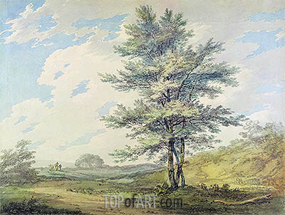 J. M. W. Turner | Landscape with Trees and Figures, c.1796