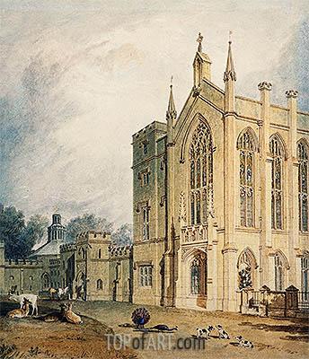 J. M. W. Turner | Scarborough, c.1807