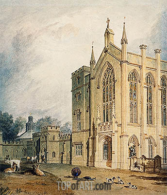 J. M. W. Turner | Cassiobury, West Front, c.1807